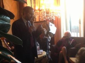 Incontro con Umberto Ambrosoli candidato alla presidenza di Regione Lombardia 4 febbraio 2013